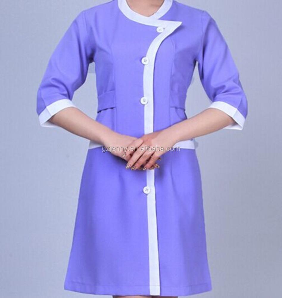 Las mujeres uniforme spa sal n de belleza uniforme ropa de for Spa uniform alibaba