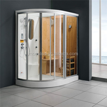 Monalisa Heimsauna Serie 2 Person Sauna Dusche Kombination M-8218 - Buy  Badezimmer Design,Bad,Duschkabine Product on Alibaba.com