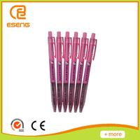 writing instruments plastic ball point promotional pen