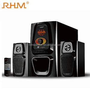 Most Popular high power home theater with karaoke usb and fm function 2.1 home theater