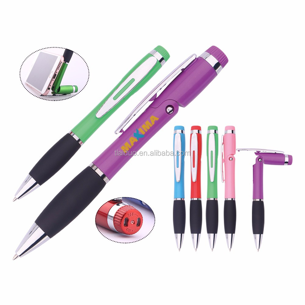 Perfume Pen New Design China Supplier Good Quality Factory Price 3 In 1 Ball Pen With Phone Stand