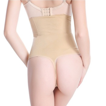 High Waist Panty Brief Body Shaper For Women Tummy Control Belt Underwear Shapewear Belly Girdle Thong
