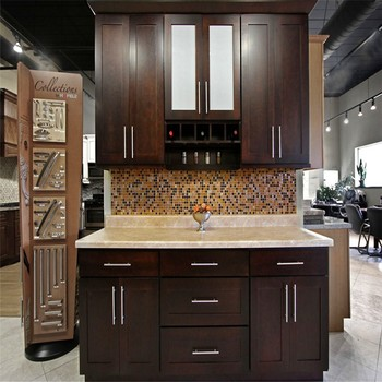 Fully Customized Traditional Painted Kitchen Design, Painted Solid Wood Kitchen  Cabinets ,Wood Country Style