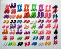 60Pairs Mixed Styles Fashion Sandals Boots Little Toy Assorted Shoes for Barbie Doll Accessories High heel