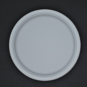 10 inch round paper plate christmas party use raw material disposable tableware