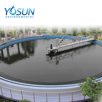 Circular clarifier dewatering equipment complete industrial for water purification systems