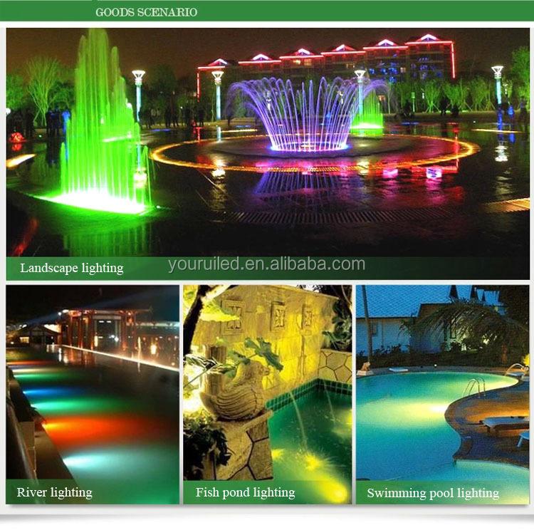 Aluminium Led Recess Underground Spot Garden Light Color Changing ...