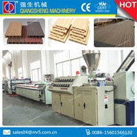 2015 new PE, PP, PVC wood plastic composite wpc board machine with factory price