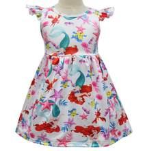 Детские платья с героями мультфильмов Dumbo, детские платья с единорогом для девочек 2020(Китай)