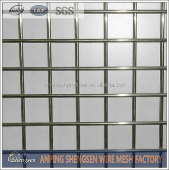Pvc Coated Heavy Duty Welded Wire Mesh Fence Panels In 12 Gauge ...