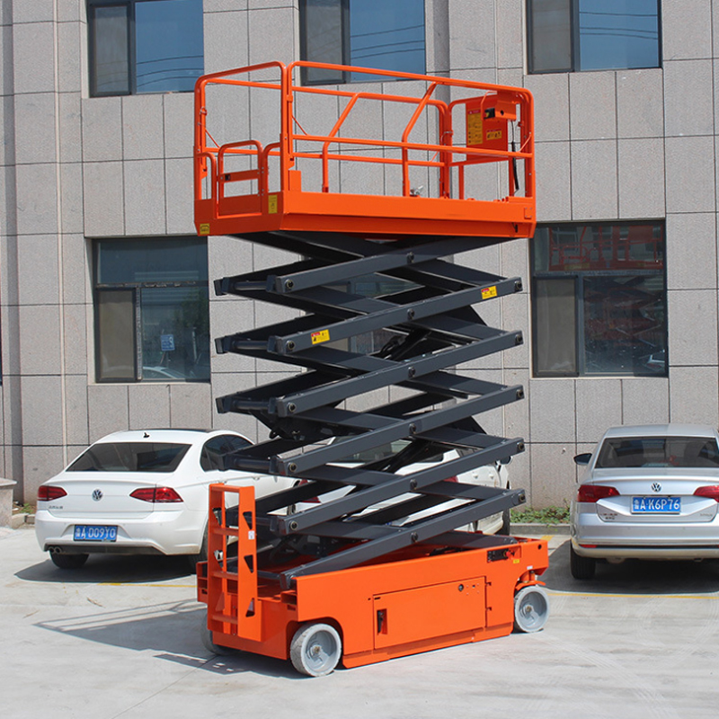 self propelled electric mini scissor lift/hydraulic scissor lift