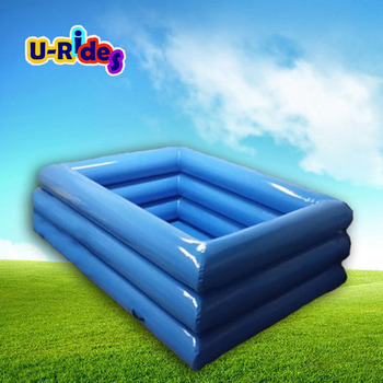 Quadrate Inflatable Triple Tubes Swimming Pool - Buy Swimming Pool,Swimming  Pools,Pool Frame Product on Alibaba.com