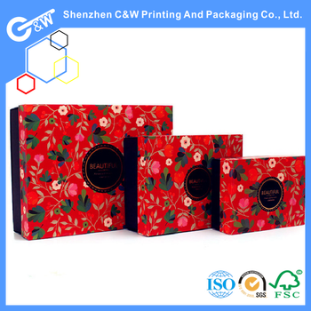 luxury chinese new year souvenir gift plastic box - Gifts For Chinese New Year