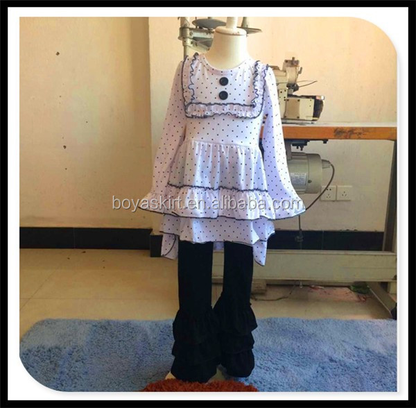 17a5d569feaf 2017 Fall Clothes For Little Girl Outfits Children Easter Boutique ...