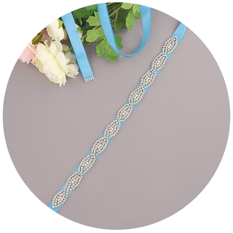 THK-Wedding Bridal sash and belts,wedding belts with rhinestones,belts for women