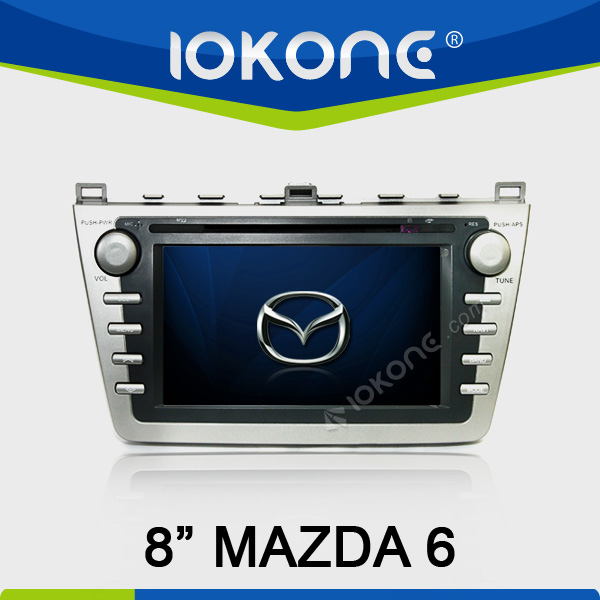factory 8'' HD Touch screen Car DVD player for mazda 6 dvd gps bose