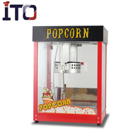 CE approved 8oz industrial commercial Gas popcorn machine