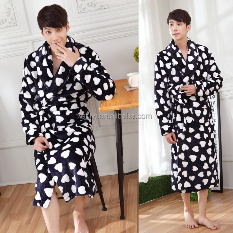 China hot selling products wholesale Hotel and Home Use bathrobe couple wear