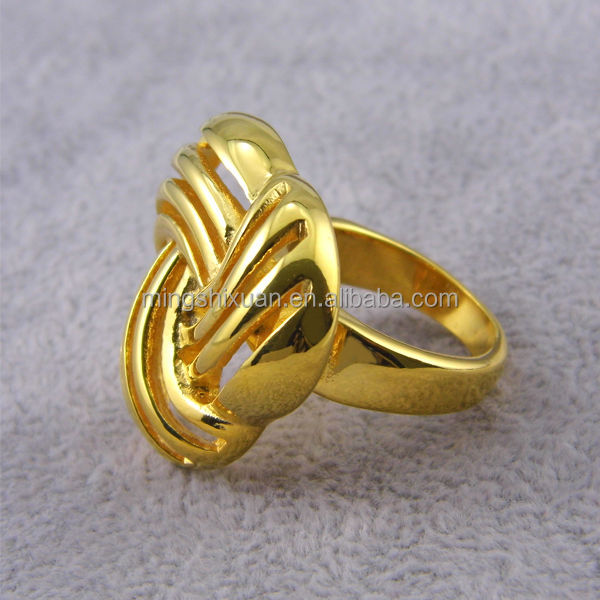 18K latest gold finger ring new design floating finger rings View
