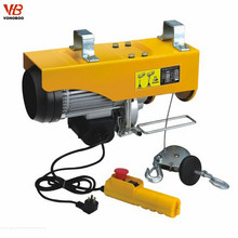 remote control mini electric wire rope hoist