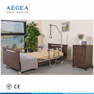 AG-W002 hospital ultra-low electric nursing bed for patient medical equipments home care bed elder care furniture