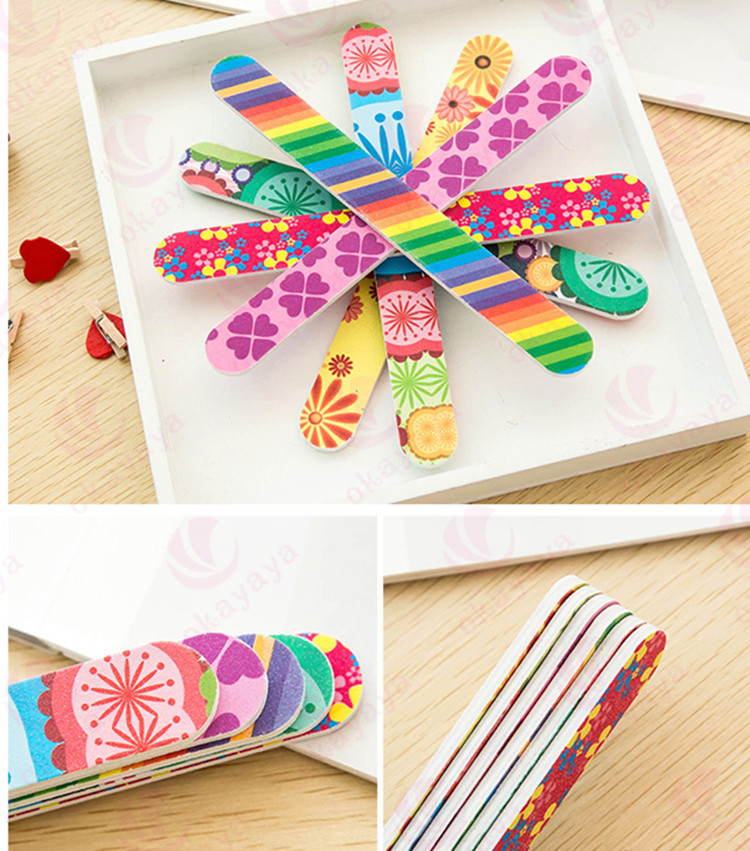 Personalized wholesale nail files disposable 100/1800 nail file