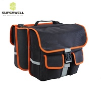 China Made High Quality Polyester Cycling Biking Travel Bike Saddle Bag