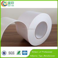 0.1mm Double Sided Waterproof Acrylic Adhesive White Black PE Foam Mounting Mirror Tape