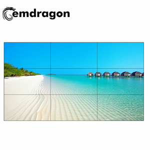 46 inch LCD Video Wall 3x3 Video Wall solutions digital Display Screen 3.5mm Narrow Bezel