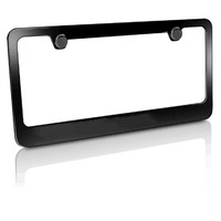 Wholesale plastic license plate frame USA size plate frame car number license plate holders frame