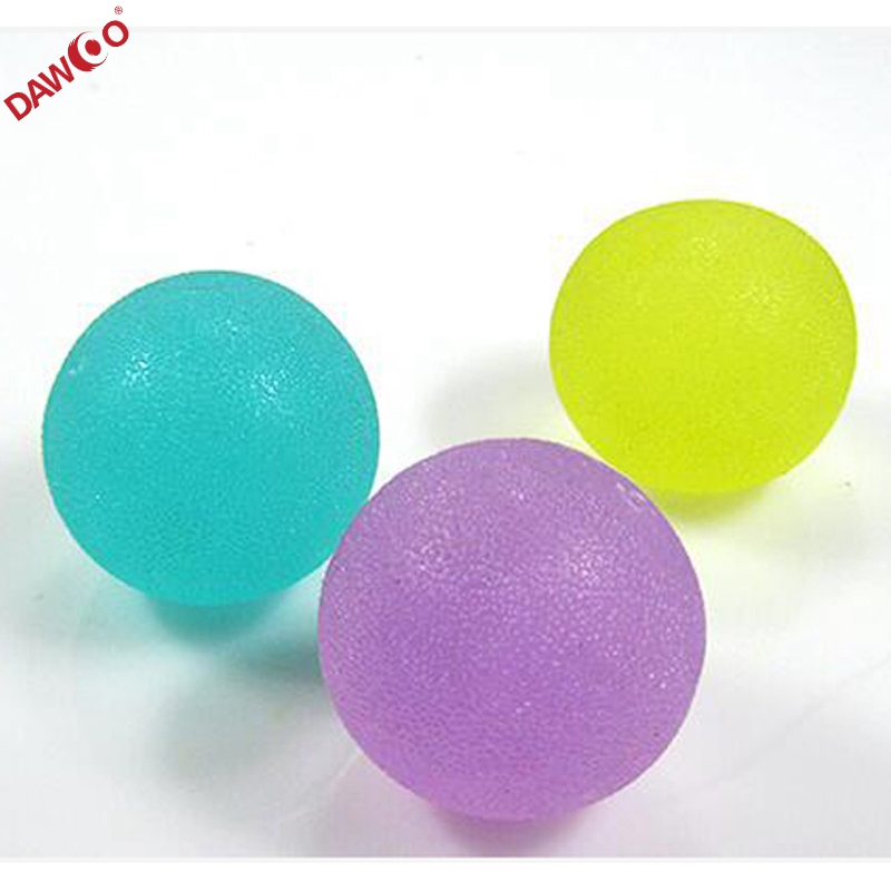 hand therapy Round shape TPR Gel exercise squeeze stress <strong>ball</strong>