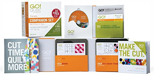 Accuquilt GO! Qube 9-inch Companion Set - Corners