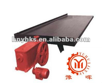 6-s sereis shaking table in mine for gold or iron