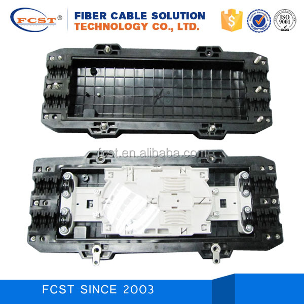 FTTH FTTB &FTTX Systems 48 cores horizontal fiber optic splice closure joint box FCST01114