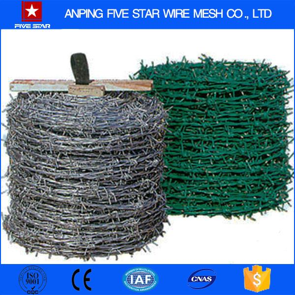 Factory supply china protective material 3-strands barbed wire