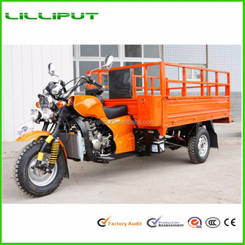 Three Wheels Motorcycle Petrol Tricycle/cargo Motor Cycle/van Cargo  Tricycle - Buy Van Tricycle,Petrol Tricycle,Three Wheel Motorcycle Product  on