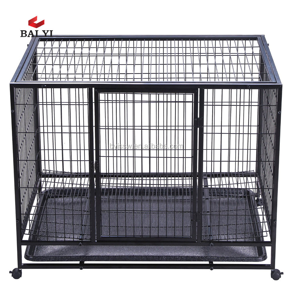 double dog cage, double dog crate, double dog kennel