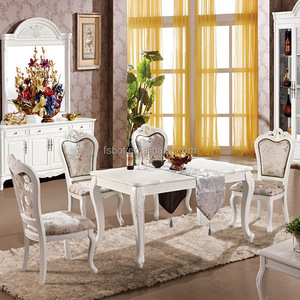 luxury dining room furniture square solid wood dubai dining tables and chairs wooden pub table chair M320-910