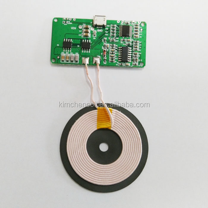Qi Wireless Charger PCBA Circuit Board With transmitter Coil Wireless  Charging DIY, View wireless charger circuit board, JZ Product Details from