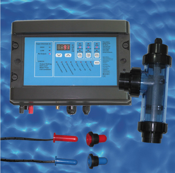 3 in 1 pool salt chlorine generator used for disinfecting 100m3 pool <strong>water</strong>