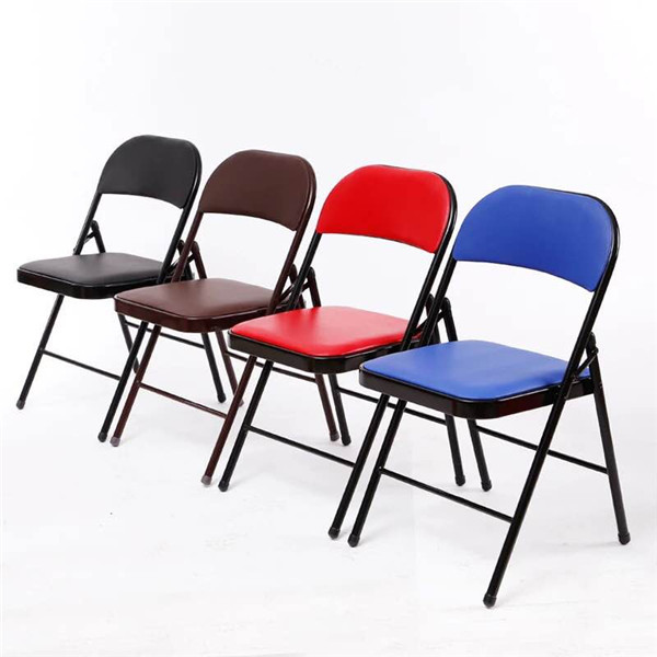Steel Chairs Product : Sd cheap event party used metal plastic folding chair