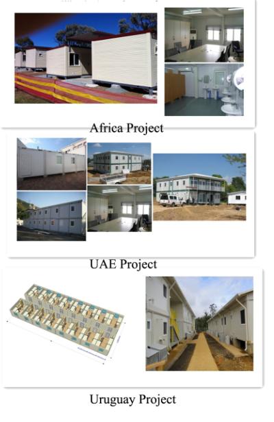Новое портативное сборное офисное школьное общежитие, Китайские сборные дома, контейнерные дома