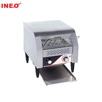 Commercial Electric Bread Conveyor Toaster With Cover