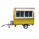 Good performance food truck for sale thailand/hot selling Street Electric Buffet Car