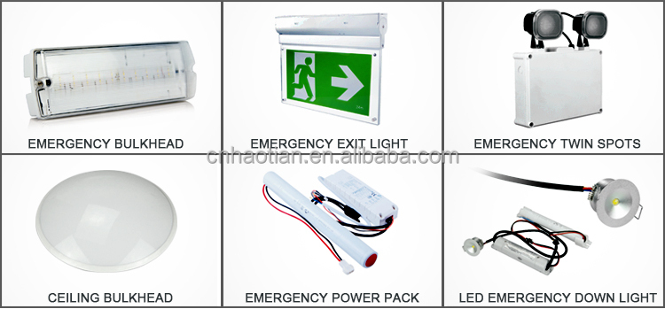 the best selling CE/ROHS SMD2835 emergency exit light with exit sigh for Europe,wall mounted and ceiling mounted
