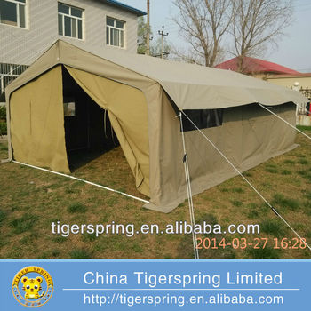 Comfortable Semi Permanent Canvas Tent Patterns Buy