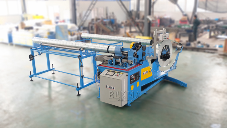 Blkma Factory Round Air Duct Machine Spiral Duct Making