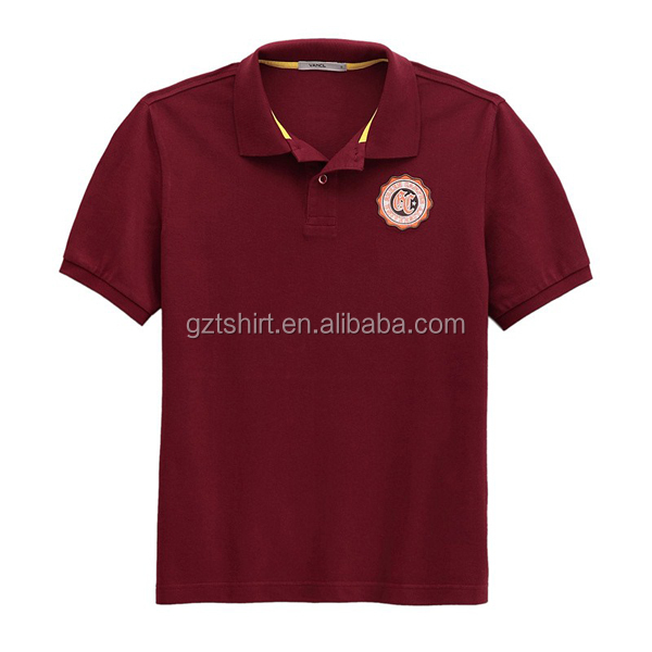 Wholesale Color Combination Sports and Golf Polo Shirt Dry Fit