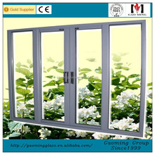Aluminum Frame Stacking Sliding Glass Doors 1892