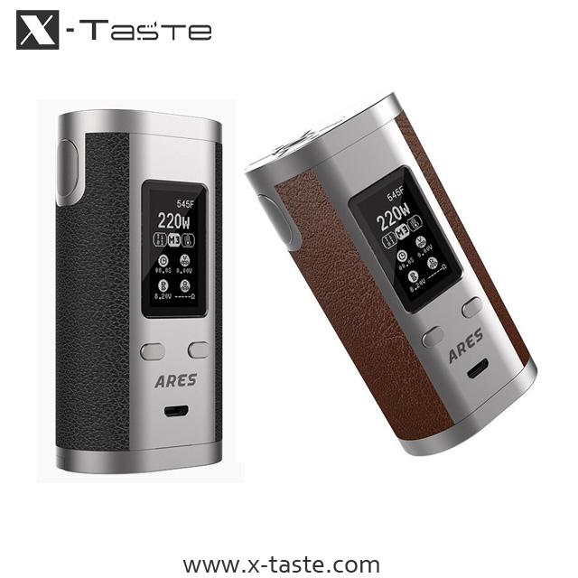 2017 new brand x-taste 510 thread 18650 20700 battery vaporizer vape pen kit china supplier